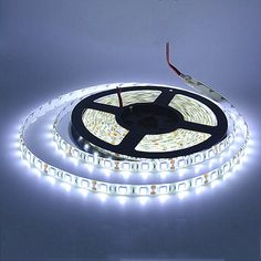 5M LED strip 5050 IP65 Waterproof 60LED/M DC12V Flexible LED Light Strip RGB CoolWhite Warm White Blue - free shipping worldwide