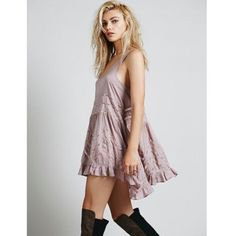 Nwt Free People Trapeze Dress