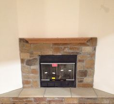 Fireplace available through Pine Ridge Homes, Inc.