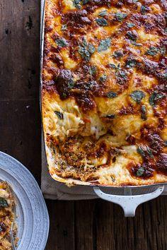 Italian Quinoa Risotto Lasagna w/Truffle Oil | halfbakedharvest.com @hbharvest