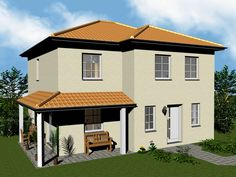 Stadtvilla mediterran  Florenz - #Einfamilienhaus von HELMA Eigenheimbau AG | HausXXL ...