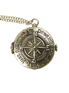 LOVEsick Compass Locket Necklace,
