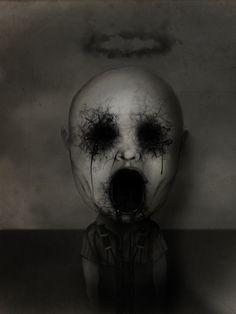 Child demon by D4rkharlequin.deviantart.com on @deviantART