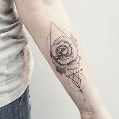 Rose and geometry Děkuji!