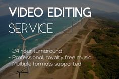 do PROFESSIONAL video editing in under 24 hours by marcodrp