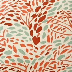Pine Cone Hill Toadstool Russet Fabric by the Yard: color/pattern Fabric Patterns, Print Patterns, Pine Cone Hill, Living Room Turquoise, Illustrations, Drapery Fabric, Bedding Collections, Comforter Sets, Decorative Pillows