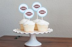 These Match Perfectly: https://www.etsy.com/shop/sparkanddelight/search?search_query=football&order=date_desc&view_type=gallery&ref=shop_search