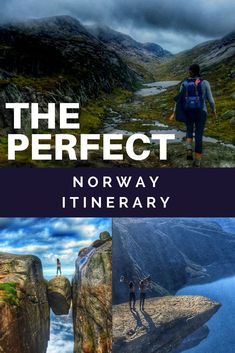 Norway itinerary for 1 week in Norway, including Oslo, Bergen, and other bucket list spots! Norway Roadtrip, Roadtrip Europa, Norway Vacation, Hiking Norway, Norway Travel, Honeymoon In Norway, Voyage Europe, Europe Travel Guide, Bergen