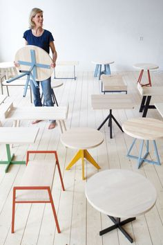 Furniture: Mun Collection by SlowWood