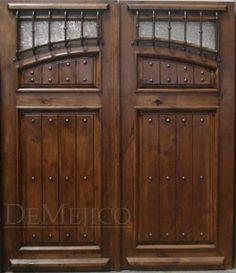 Puerta Antigua Sencilla