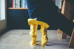 satsuki ohata's cheesy fondue stool at milan design week 2015