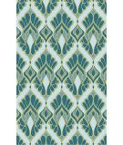 RugStudio presents Surya Voyages VOY-52 Teal Flat-Woven Area Rug $1000 for 8x10