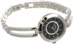 Caravelle by Bulova Women's 43L152  Bangle Watch Caravelle by Bulova. $49.49. Quartz movement. Water-resistant to 30 M (99 feet). Black dial. Brass case and bracelet. Mineral flat