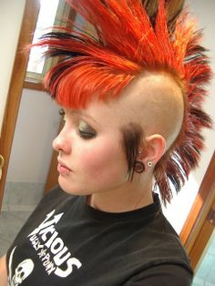 shaved mohawks for black women | people with mohawks finally check the lady mohawks qualified for