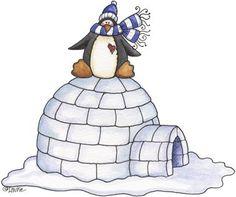 Web Design, Design Blog, Christmas Bird, Christmas Clipart, Hut Images, Decoupage, Winter Clipart, Wraps, Penguin