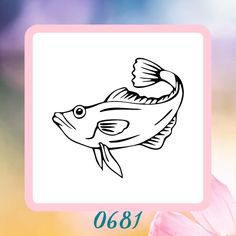 A personal favorite from my Etsy shop https://www.etsy.com/listing/223149901/fish-silhouette-reusable-craft-stencil