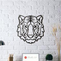 Tigre en décoration murale métallique bientôt disponible sur Artwall and Co !