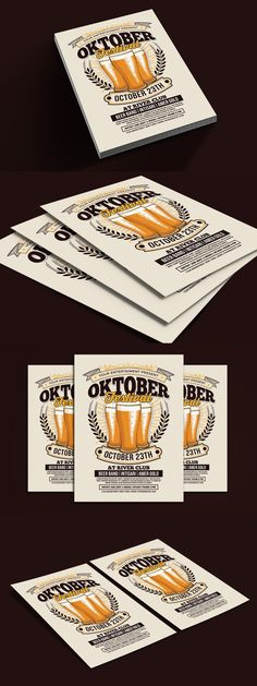 Find Fonts, Club Design, Color Change, Oktoberfest
