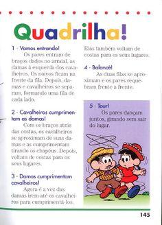 Alfabetizando com Mônica e Turma: festa junina