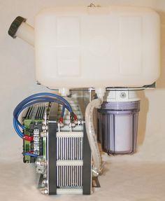 Hydrogen Generator, Gas Generator, Power Generator, Diy Electronics, Electronics Projects, Hho Gas, Hydrogen Car, Energy Projects, Solar Power System