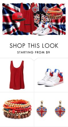 Style England by laora19 on Polyvore featuring Supra, MOOD, Cath Kidston and Jack Black
