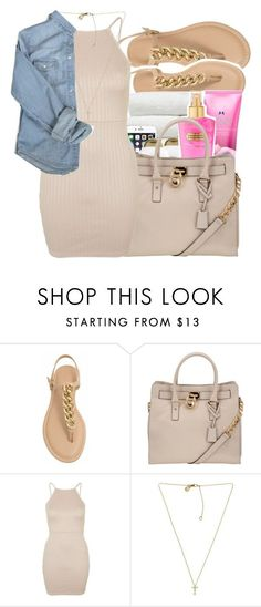 """""""Yonkers✨"""" by maiyaxbabyyy ❤ liked on Polyvore featuring MICHAEL Michael Kors, Topshop and Michael Kors"""