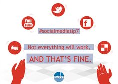 Yes it is fine, but you don't stop working and creating rich content for Social Media #SocialMediaTip7