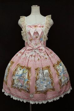 BABY,THE STARS SHINE BRIGHT / Alice In Wonderlandエプロンジャンパースカート - closet child オンラインショップ
