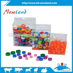 NL621plastic colorful leg ring for canary bird