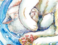 "Check out new work on my @Behance portfolio: ""Cat`s dream 2"" http://be.net/gallery/37067465/Cats-dream-2"