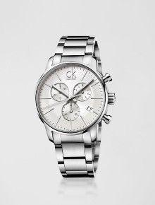 RELÓGIO CALVIN KLEIN PULSEIRA DE AÇO PRATA R  2.659,00 Relógio Calvin Klein, 64d14c6329