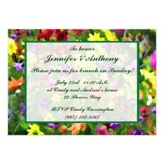 ShoppingFloral Impressions Wedding Brunch Personalized Invitationswe are given they also recommend where is the best to buy