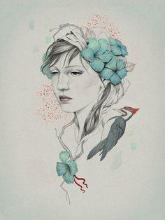 As Ilustrações Digitais de Diego Fernandez