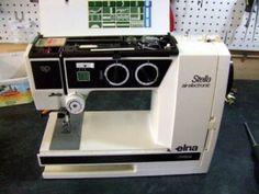Elna sewing machine repair.