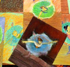 Everyone is an Artist; Sixth Grade Class Degas Examples. Incredible!