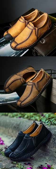 Amazon Men's Handmade Leather Summer Walking Slip On Loafers Casual Shoes http://www.99wtf.net/men/mens-fasion/fit-wearing-clothes/