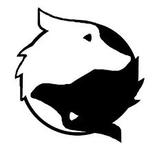 yin yang cat and dog vector set grafiki pinterest yin yang rh pinterest com Funny Yin Yang Yin Yang Cat Black
