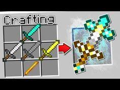 CRAFTING ULTRA MINECRAFT TOOLS! Creeper Minecraft, Minecraft Pixel, Minecraft Cheats, Minecraft Secrets, Minecraft Sword, Mojang Minecraft, Skins Minecraft, Minecraft Room, Amazing Minecraft