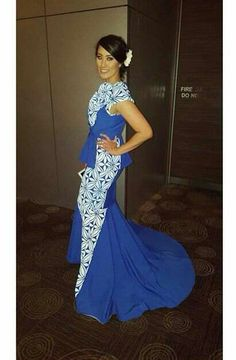 Samoan dress