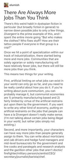 This whole thing makes a lot of sense until you consider automation and robots (the way they are currently being developed). Soon as we get functioning, reasonably-priced-for-a-company semi-trucks, say goodbye to pretty much every single driving-based job ever--which is something like 40% of the American workforce or whatever. There won't be any jobs because the competition is too fierce, and companies want to consolidate job roles to reduce costs (read, wages).