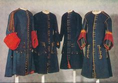 French justeaucorps of c.1687 kept at the Armémuseum of Stockholm