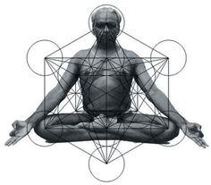 Guruji B. Iyengar in seated meditation, sacred geometry of chakra energy system. Iyengar Yoga, Ashtanga Yoga, Pranayama, Sudarshan Kriya, Yi King, Mind Body Spirit, Flower Of Life, Guided Meditation, Chakra Meditation