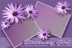 birthday girl Birthday Photo Frame, Birthday Frames, Girl Birthday, Happy Birthday Pictures, Birthday Photos, Iphone Background Images, Borders And Frames, Flower Frame, Special Day