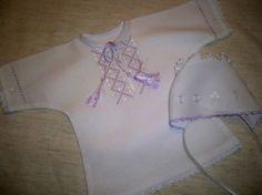 Крестильная рубашка для ребенка