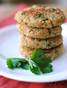 Spring Herb Quinoa Patties, only 3 WW points