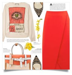 """""""Spring Time"""" by dolly-valkyrie ❤ liked on Polyvore featuring Gucci, Reed Krakoff and Warehouse"""