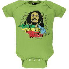 Bob Marley - Get Up Baby One Piece