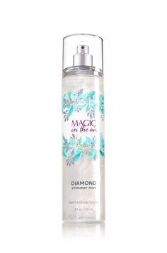 Magic in the Air Diamond Shimmer Mist - Signature Collection - Bath & Body Works (Beauty Women Kissing) Bath N Body Works, Bath And Body Works Perfume, Perfume Body Spray, Victoria Secret Fragrances, Fragrance Mist, Body Mist, Smell Good, The Body Shop, Body Lotion