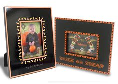 Candy Corn Frame Set - easy to add some spooky decor
