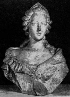 Bust of Marie Leszczyńska, Queen of France, ca. 1730 by Guillaume Coustou the Elder (1677-1746)
